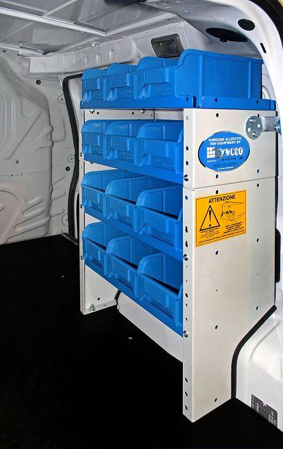 Arredamento per furgoni a torino da syncro for Componenti di arredo